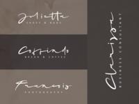 "Logo Example ""Mrs. Santhi"""