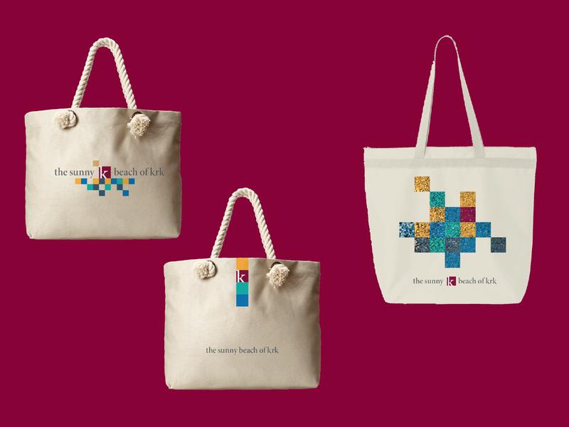 Experience Krk Branded Beach Bags By