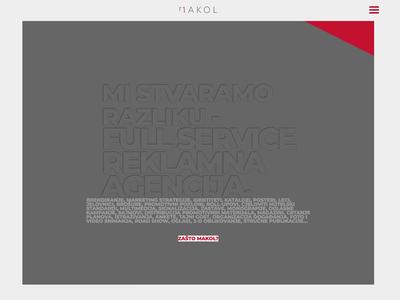 Makol homepage