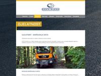 Ceste Rijeka webpage screenshot