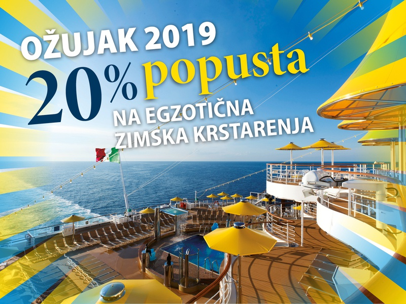 Travel agency cuise promotion