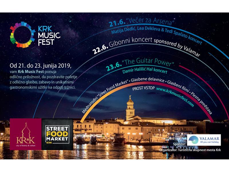 Krk music Fest promo