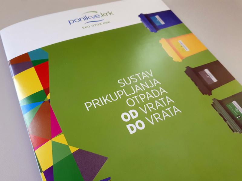 Waste management brochure cover