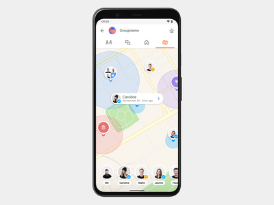Familo Map app maps family tracking gps map locator