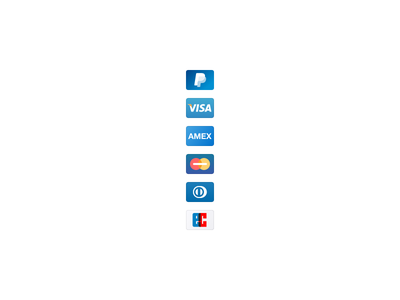 Payment methods ui diners club master card amex visa paypal payment