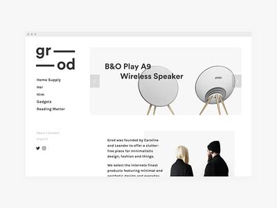 Sideproject sideproject ui ux minimal web