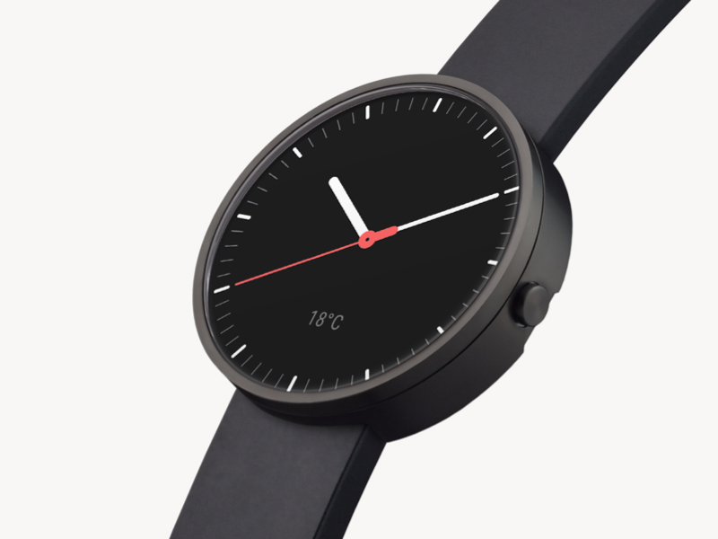 Custom Watchface for Android Wear ui material moto 360 android wear android watch face