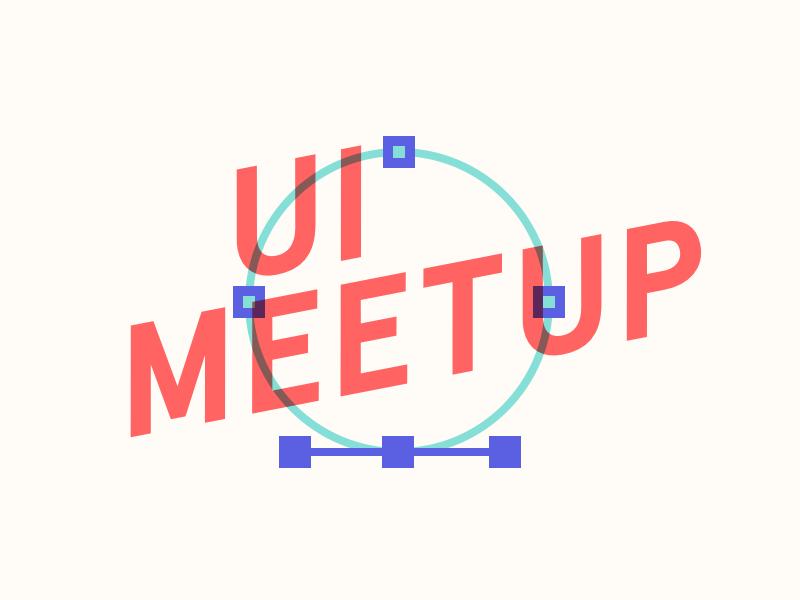 Hamburg UI Meetup Banner graphic product design ui ux meetup