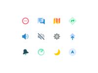 WIP icon set