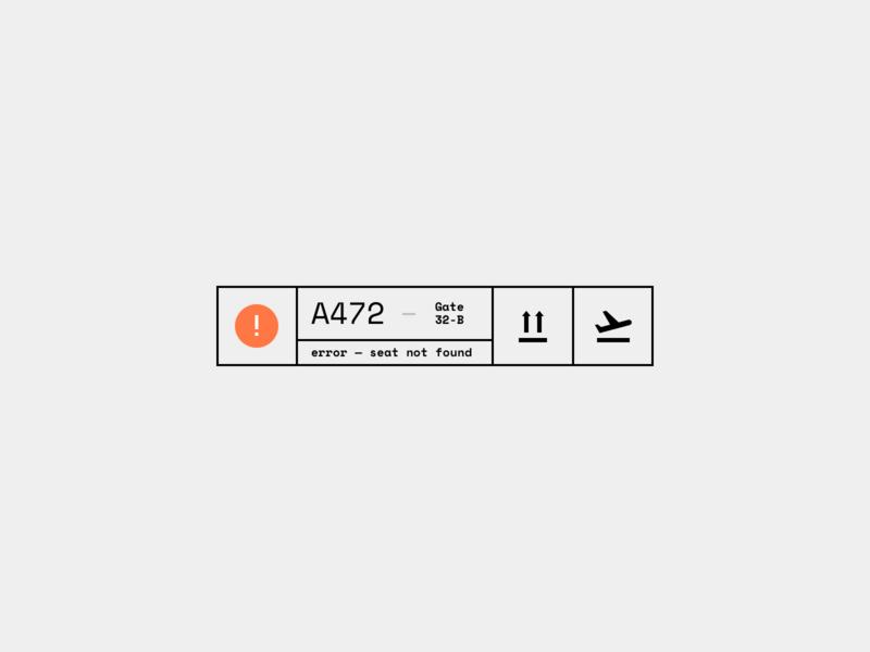 Daily UI 011 — Flash Message (Error) 011 dailyui flash message error