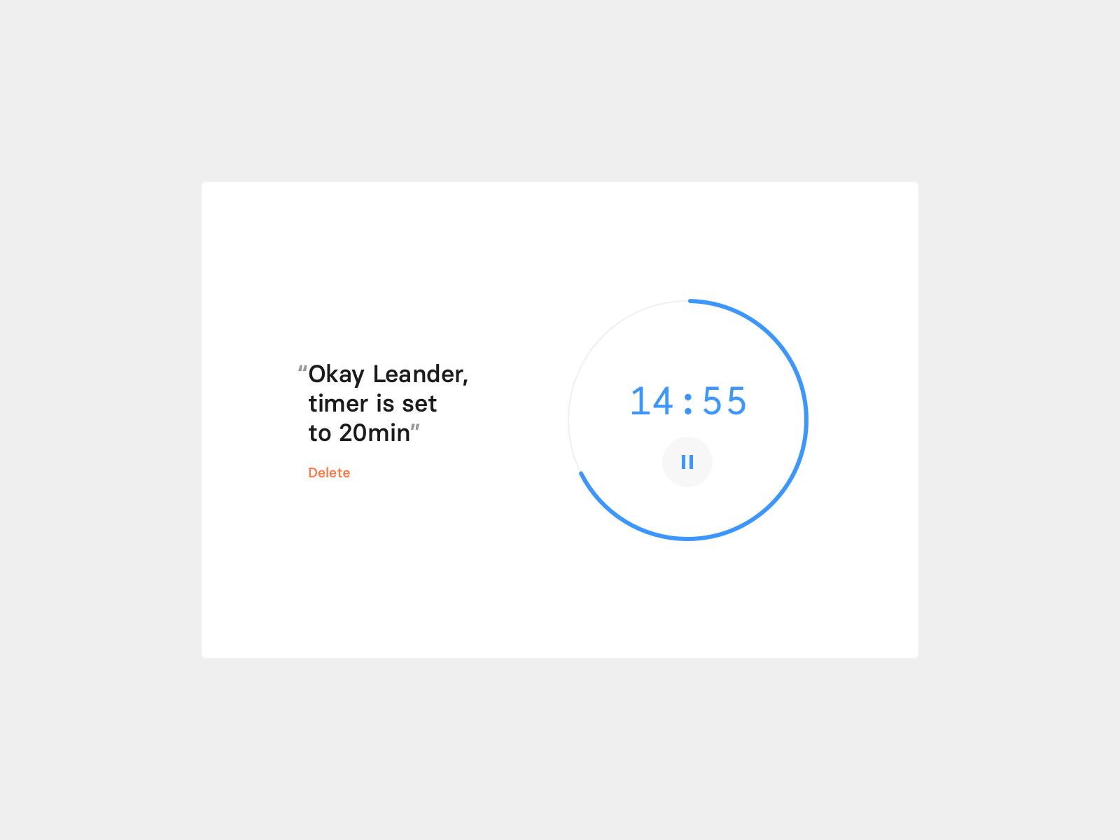 Daily UI 14 — Timer UI