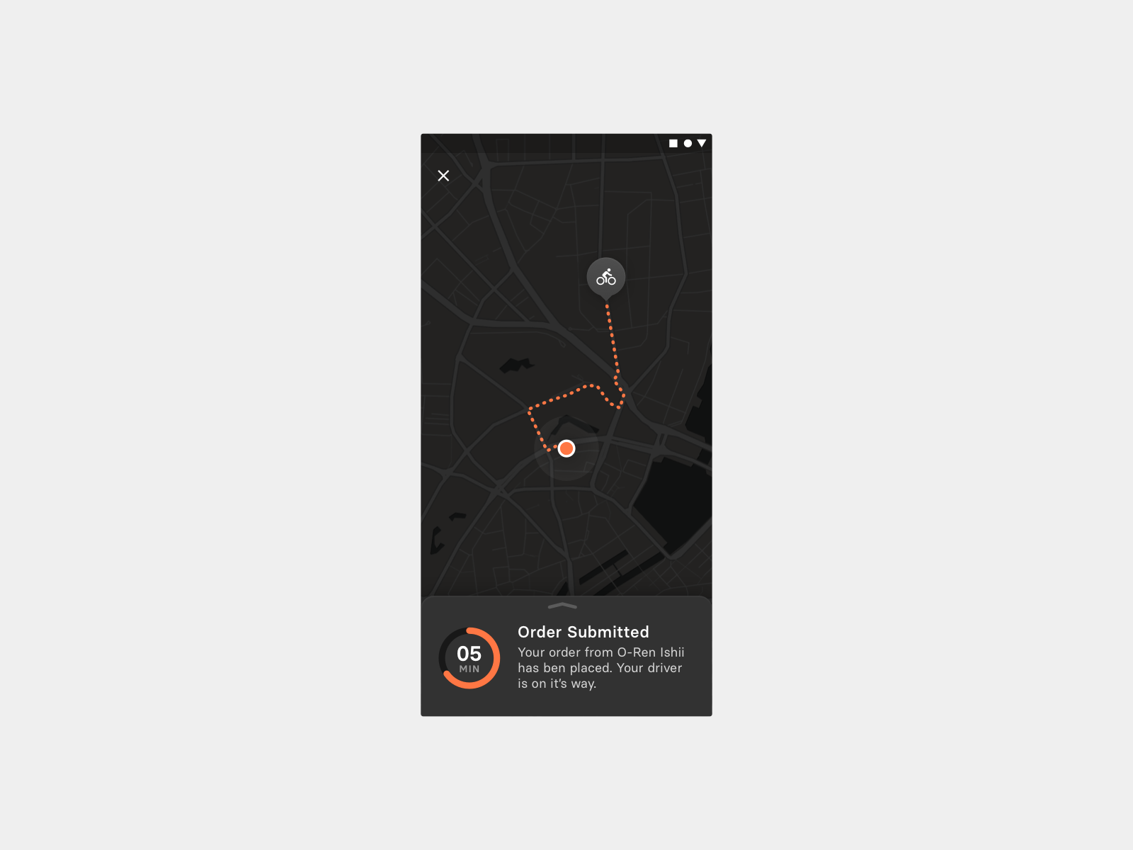 Daily UI 020 — Location Tracker