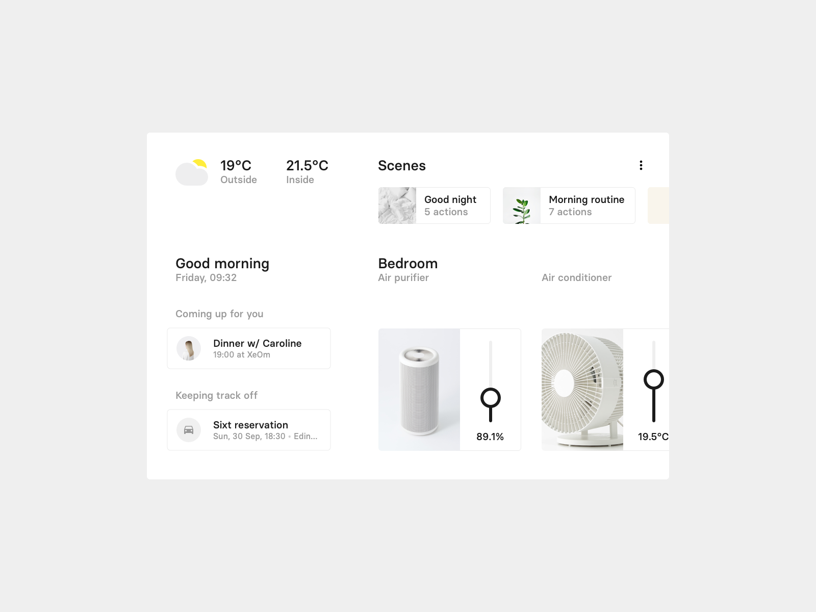 Daily UI 021 — Home Monitoring Dashboard