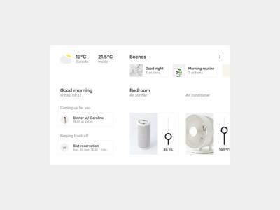 Daily UI 021 — Home Monitoring Dashboard
