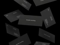 Studio Lenzing Business Cards
