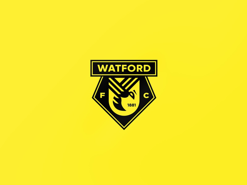 Watford FC Re-Design concept soccer bee wasp premier league football watforddesign watfordlogo watford hornets design logo watfordbadge hornet