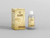 Azal Box And Bottle Golden Moc