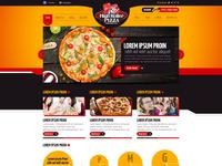 High Roller Pizza Website Home