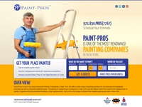 Paint Pros Landing Page