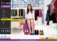 Styling Room Home Page Design