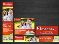 Medpex Google Banners Design