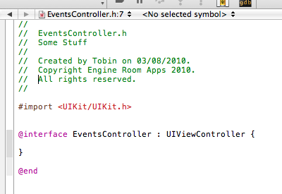 Learning Objective-C Step 1/1000,000 code