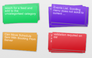 HTML/JS Stacked Cards html5 ui senchatouch javascript