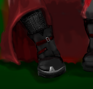 Boot WIP boot illustration bamboo
