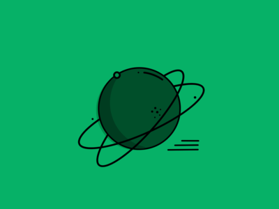 Planet Icon Illustration