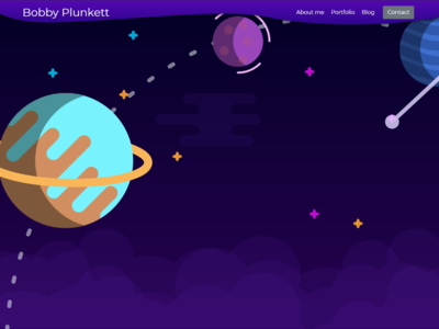 Flat Space Homepage Concept