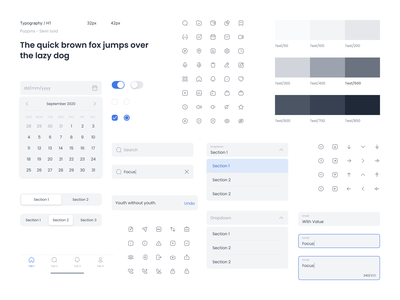 〽️ Met Design System - Mobile styleguides styleguide uikits uikit designsystem design system free redesign application user experience mobile app ux user interface uidesign ui design