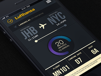 Lufthansa flight tracker