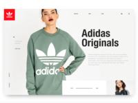 Day4: Adidas Originals Landing