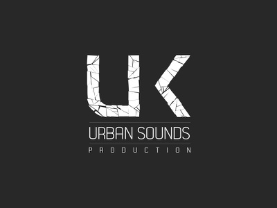 UKUS Production logo logo music urban cinema 4d 3d