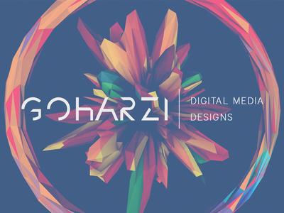 GOHARZI   Digital Media Designs Logo