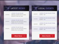Hard Rock Events Listing