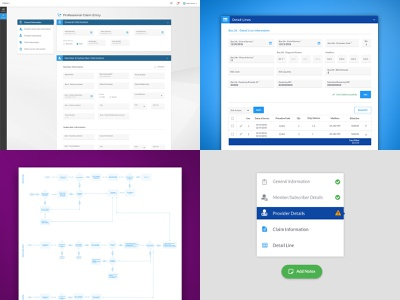 Top 4 Shots from 2018 user flow flow layout web ux ux design ui design ui website