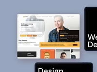 Website Design for an Investment Company