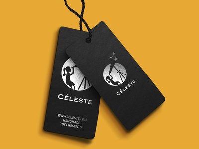Logo and Label design for Céleste