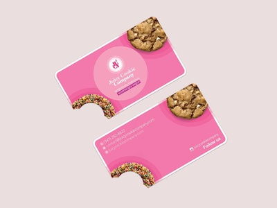 Business Cards Design for JuicyCookieCompany