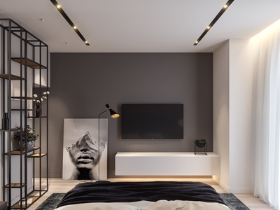 Modern Bedroom Visualization