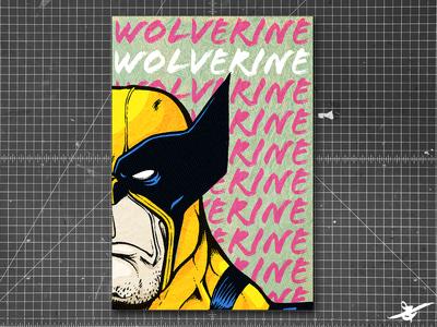 Wolverine Print Design