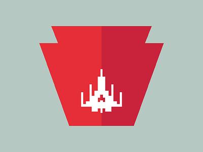 Geekadelphia Logo Redesign logo philadelphia geek 8bit glyph branding