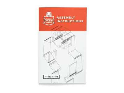 Production Asset #16 instruction manual extrude robot gotham outlines 3d