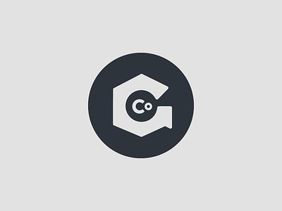 Nuts & Bolts & G logo identity branding nut bolt hexagon stamp mark monogram