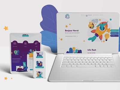 CSE ADVENTURE-Branding / Webdesign emailing graphisme illustration webdesign ux design ui design logo direction artistique branding