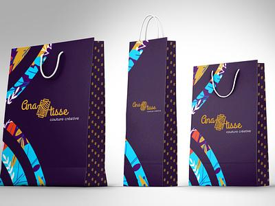 ANATISSE- Branding / Packaging packaging print logo graphisme direction artistique branding