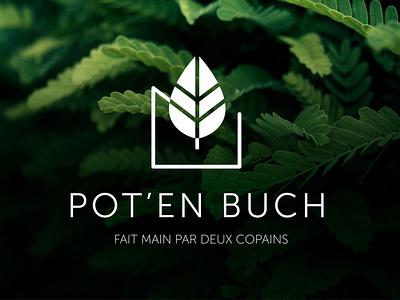 POT ' EN BUCH - Branding print logo graphisme direction artistique branding