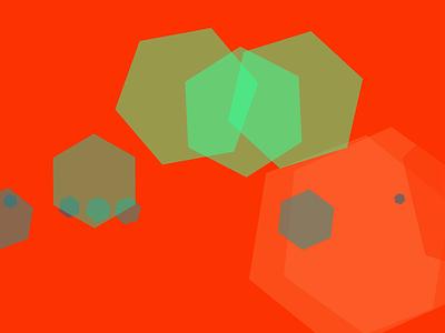 Generative Geometry random colors geometry generative