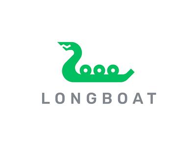 Longboat Logo longboat identity logo